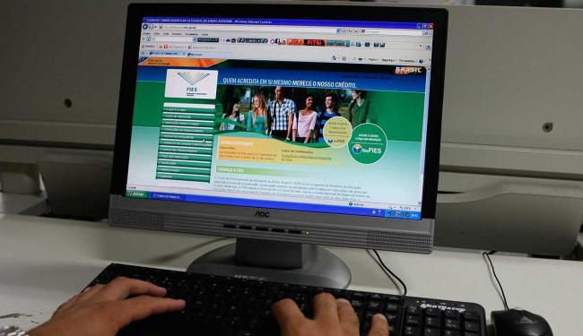 Os aditamentos deverão ser realizados por meio do Sistema Informatizado do Fies - Foto: Margarida Neide | Ag. A TARDE