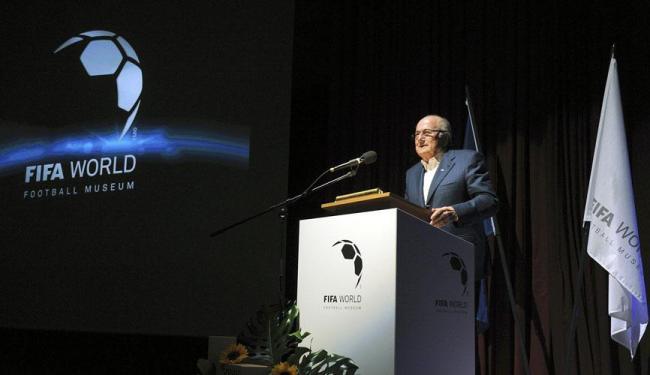 Joseph Blatter reforça possibilidade de não deixar a FIFA - Foto: Agência Reuters