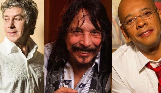 Flávio Venturini, Benito di Paula e Vander Lee comandam shows no Dia dos Namorados - Foto: Divulgação