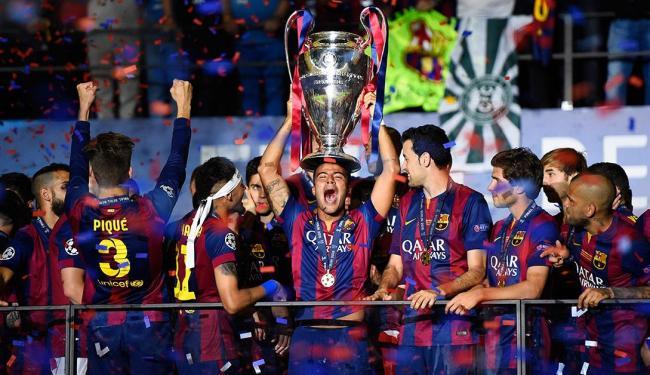 Barcelona bateu rival por 3 x 1 e levou a taça da Liga dos Campeões - Foto: Agência Reuters