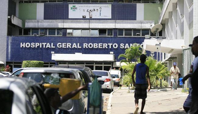 O irmão agredido deu entrada no Hospital Geral Roberto Santos - Foto: Joá Souza | Ag. A TARDE