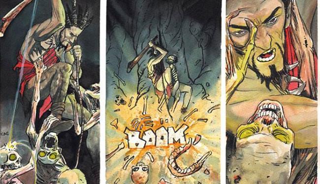 Sequência da graphic novel Piteco: Ingá, também de Shiko - Foto: Divulgação