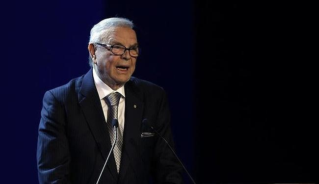 José Maria Marin está envolvido em um esquema de corrupção na Fifa - Foto: Paulo Whitaker l Reuters