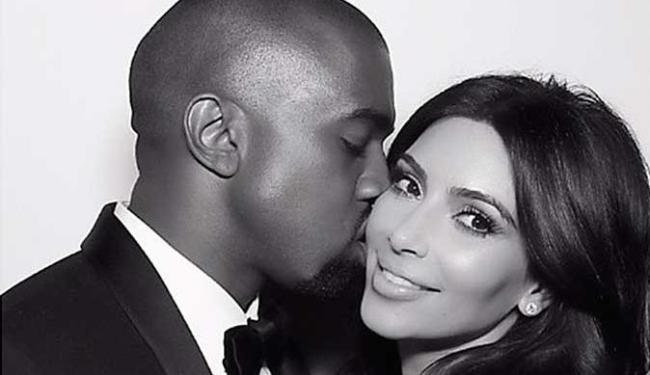 Kim e Kanye já são pais de North West, que completa dois anos no dia 15 de junho - Foto: Reprodução   Instagram