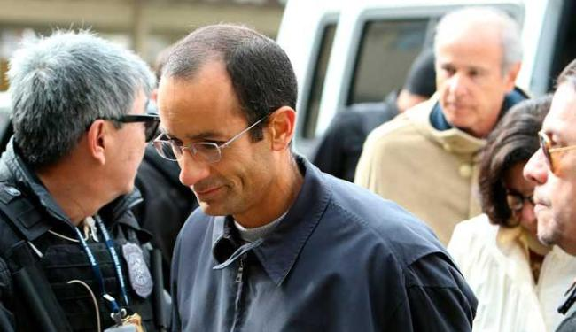 Marcelo Odebrecht (em 1º plano) e Otavio Marques Azevedo (ao fundo) estão presos - Foto: Agência Reuters