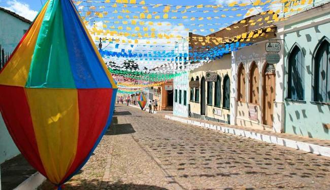 Lençóis um dos destinos turísticos baianos mais procurados para o período junino - Foto: Reginaldo Pereira | Ag. A TARDE