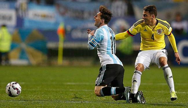 O atacante argentino Lionel Messi tem sofrido muitas faltas na Copa América - Foto: Ueslei Marcelino   Agência Reuters