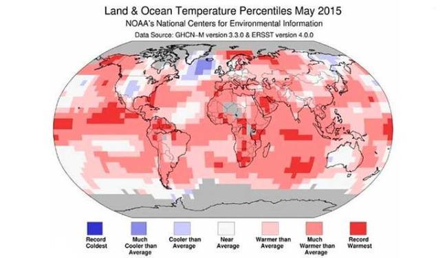 Calor atingiu todo o planeta - Foto: Divulgação