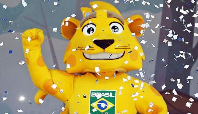 Onça-Pintada Ginga é o mascote do Brasil na Olimpíada - Foto: Agência Reuters
