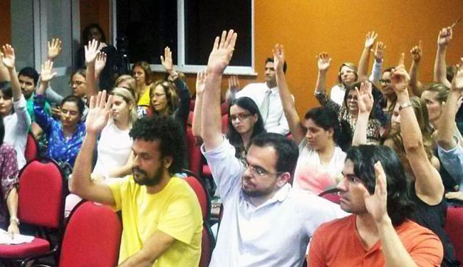 Greve foi decidida durante assembleia dos servidores municipais da Saúde - Foto: Divulgação