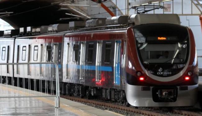 Metrô de Salvador entra no clima de São João - Foto: Lúcio Távora   Ag. A TARDE
