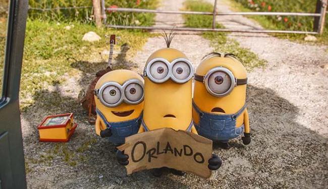 Kevin, Stuart e Bob vão procurar o vilão perfeito para os Minions - Foto: Divulgação