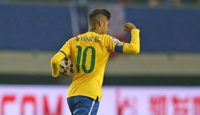 Atacante brasileiro foi o grande nome da vitória sobre o Peru - Foto: Rafael Ribeiro l CBF