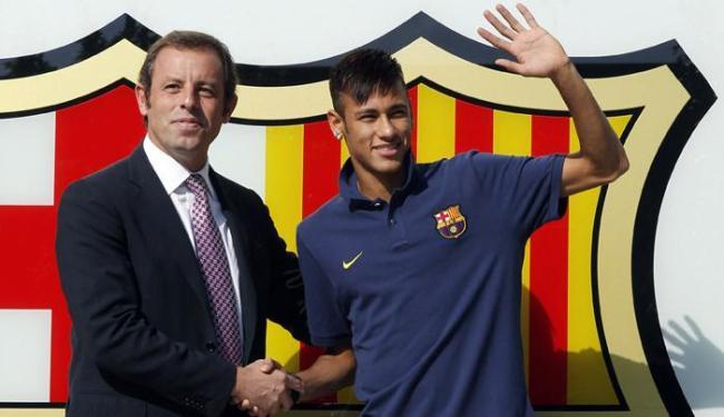 O processo também é contra o ex-presidente do Barça Sandro Rosell - Foto: Albert Gea | Ag. Reuters