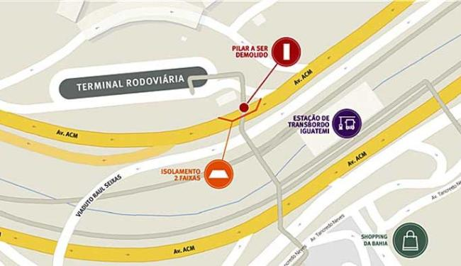 Interdição acontecerá na madrugada das 23h às 5h - Foto: CCR Metrô | Divulgação