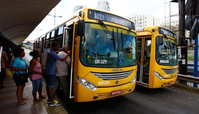 Os ônibus vão circular até as 3h durante o período da festa junina - Foto: Fernando Vivas | Ag. A TARDE