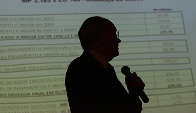 Souto disse que prioridade de 2013 foi equilíbrio - Foto: Marco Aurélio Martins l Ag. A TARDE l 28.05.2015