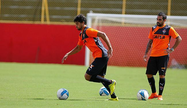 Os meias Pedro Ken e Escudero jogarão juntos pela primeira vez - Foto: Joá Souza | Ag. A TARDE