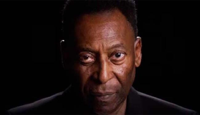 Pelé fala sobre o futebol no vídeo do game - Foto: Reprodução