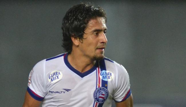 Para o atacante, Pittoni não pode zoar após empate entre Argentina e Paraguai na Copa América - Foto: Felipe Oliveira | Divulgação | EC Bahia