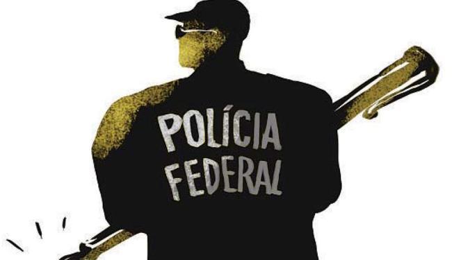Polícia Federal - ilustração - Foto: Cau Gomez | Editoria de Arte | Ag. A TARDE