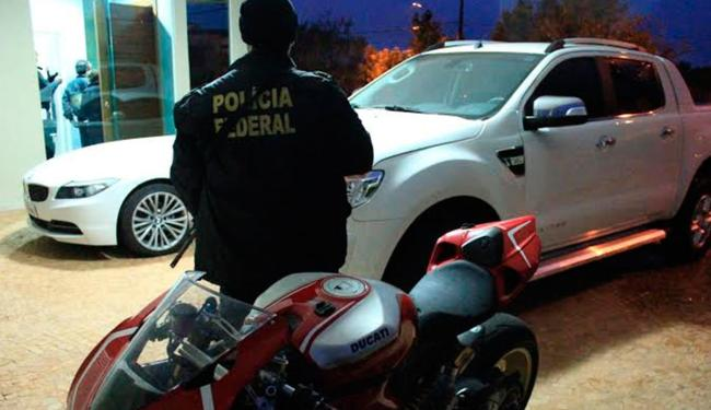 Grupo comprou veículos de luxo com dinheiro da organização criminosa - Foto: Divulgação | Polícia Federal