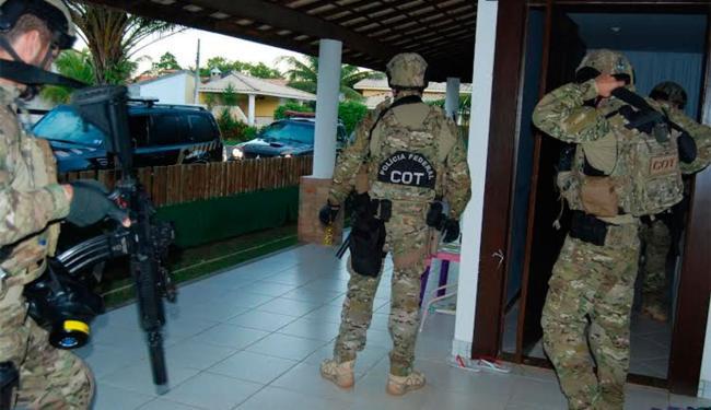 Operação foi realizada pela Polícia Federal nesta terça-feira, 16 - Foto: Divulgação   Polícia Federal