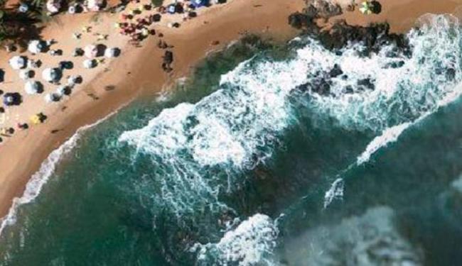 Até as 9h, o corpo de Hudson não havia sido encontrado na Praia de Stella - Foto: Reprodução | Google Maps