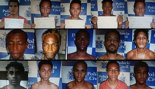 Três fugitivos já foram recapturados, na manhã desta segunda - Foto: Divulgação | Polícia Civil