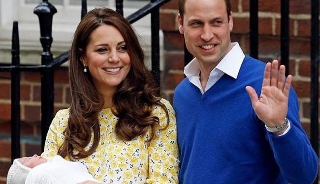 A princesa Charlotte será batizada no dia 5 de julho - Foto: AP Photo