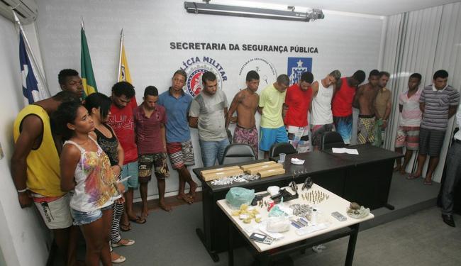 Grupo faz parte de uma mesma facção que atuava em Camaçari - Foto: Marco Aurélio Martins | Ag. A TARDE