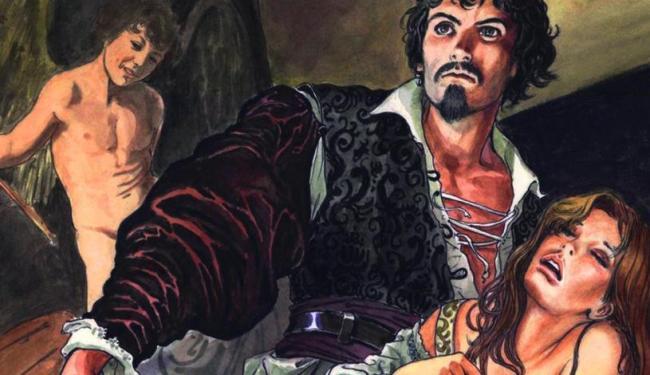 Caravaggio, nova obra de Milo Manara - Foto: Reprodução