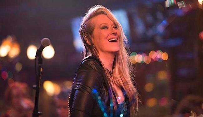 Meryl Streep vive Ricki Randazzo, uma veterana da música - Foto: Divulgação