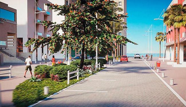 A Rua Fonte do Boi terá espaço compartilhado entre carros e pedestre - Foto: Foto | Divulgação