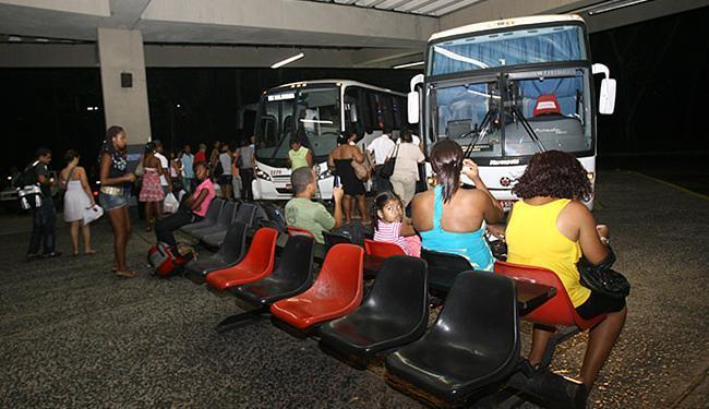 Rodoviária de Salvador tem frota reforçada este mês - Foto: Mila Cordeiro | Ag. A TARDE