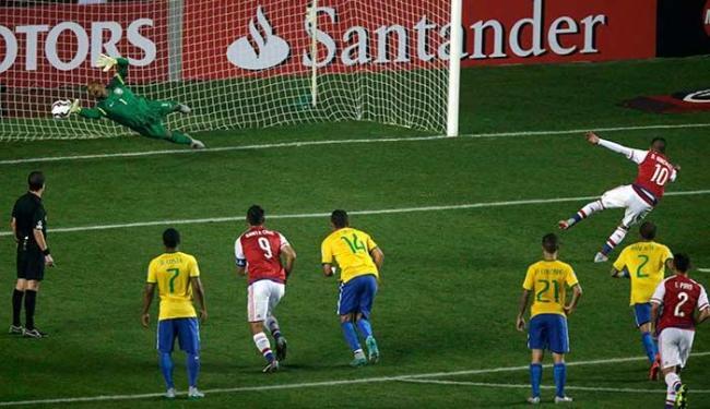Brasil perdeu para o Paraguai na disputa de pênaltis - Foto: Reuters