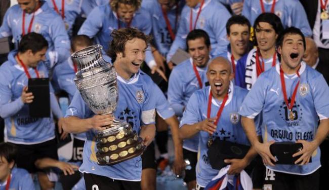 O Uruguai é o maior vencedor da competição, com 15 títulos;a Argentina tem 14, e Brasil, oito - Foto: Leo La Valle | EFE
