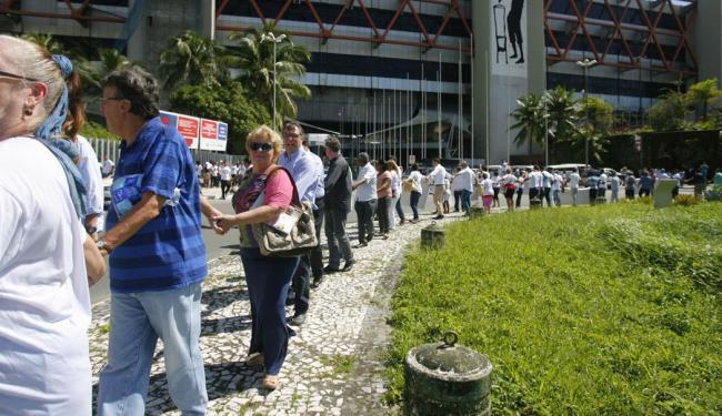 Centenas de pessoas abraçaram o centro localizado no Stiep - Foto: Joá Souza | Ag. A TARDE