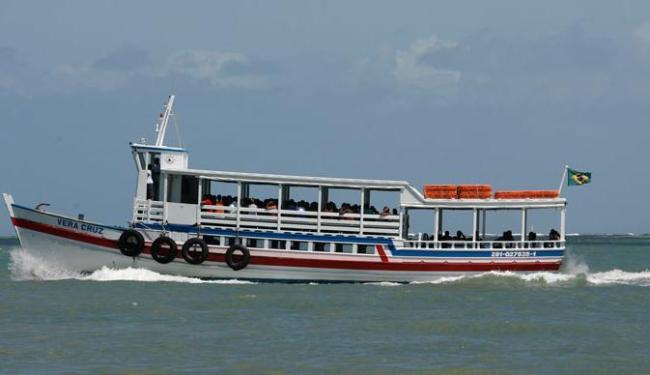 Travessia de embarcações para Mar Grande é interrompida por duas horas - Foto: Erik Salles | Ag. A TARDE