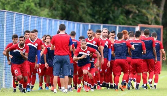 Jogadores do Bahia durante treino no Fazendão - Foto: Divulgação | E.C.Bahia