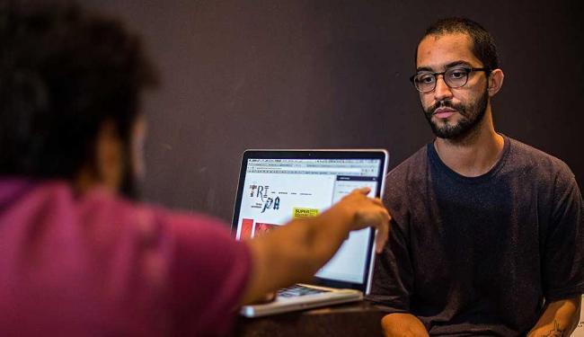 Rafael Rebouças coordena o projeto, que tem várias linguagens - Foto: Patrícia Almeida | Divulgação