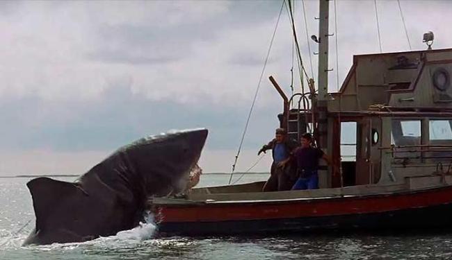 Tubarão fez a fama de Steven Spielberg - Foto: Divulgação