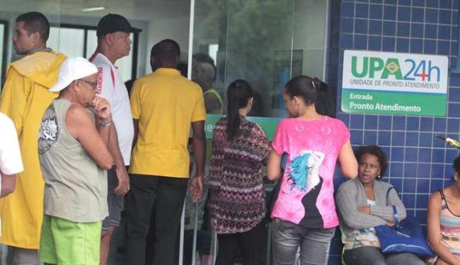 UPAs servem como intermediário entre as Unidades Básicas de Saúde e os hospitais - Foto: Lúcio Távora | Ag. A TARDE