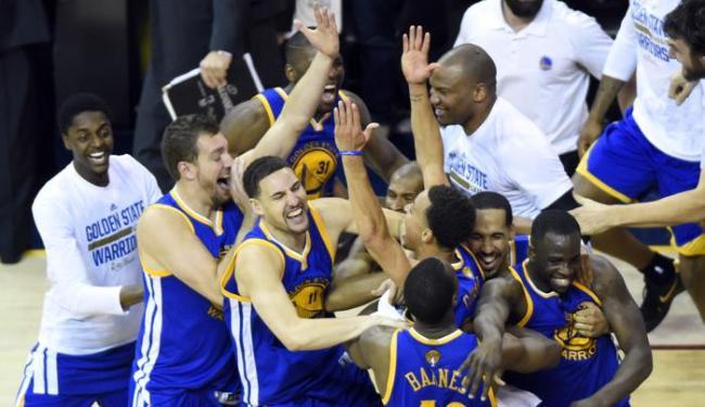 O Warriors bateu o Cleveland por 105 a 97 - Foto: Ken Blaze | Ag. Reuters