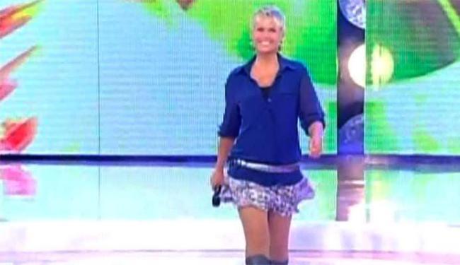 Xuxa diz que não se sentia à vontade com a minissaia - Foto: Reprodução