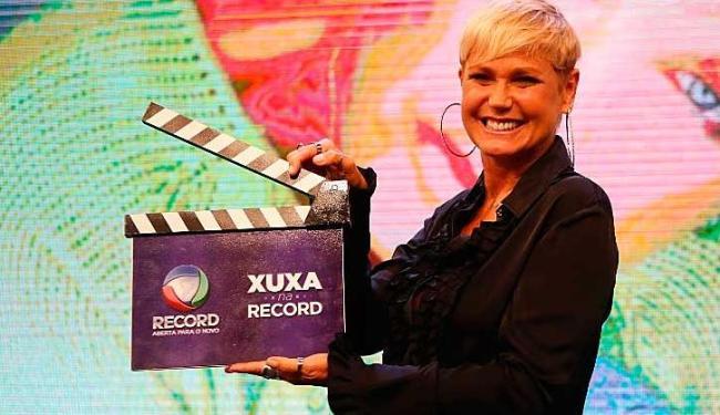 Xuxa assinou com a Record no início de março - Foto: Reprodução | Record