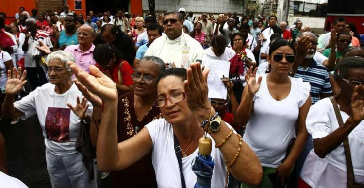 Eventos religiosos interditam vias na cidade nesta sexta-feira, 14 e no sábado, 15 - Foto: Marco Aurélio Martins | Ag. A TARDE