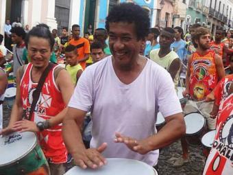 Mestre Jackson também realiza trabalhos que envolvem a música no Pelourinho - Foto: Divulgação