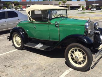 Ford Modelo A Roadster 1931 de Ricardo Valladares - Foto: Arquivo pessoal