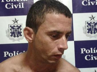 Gilmário estava escondido na casa da mãe quando foi preso - Foto: Aldo Matos | Acorda Cidade